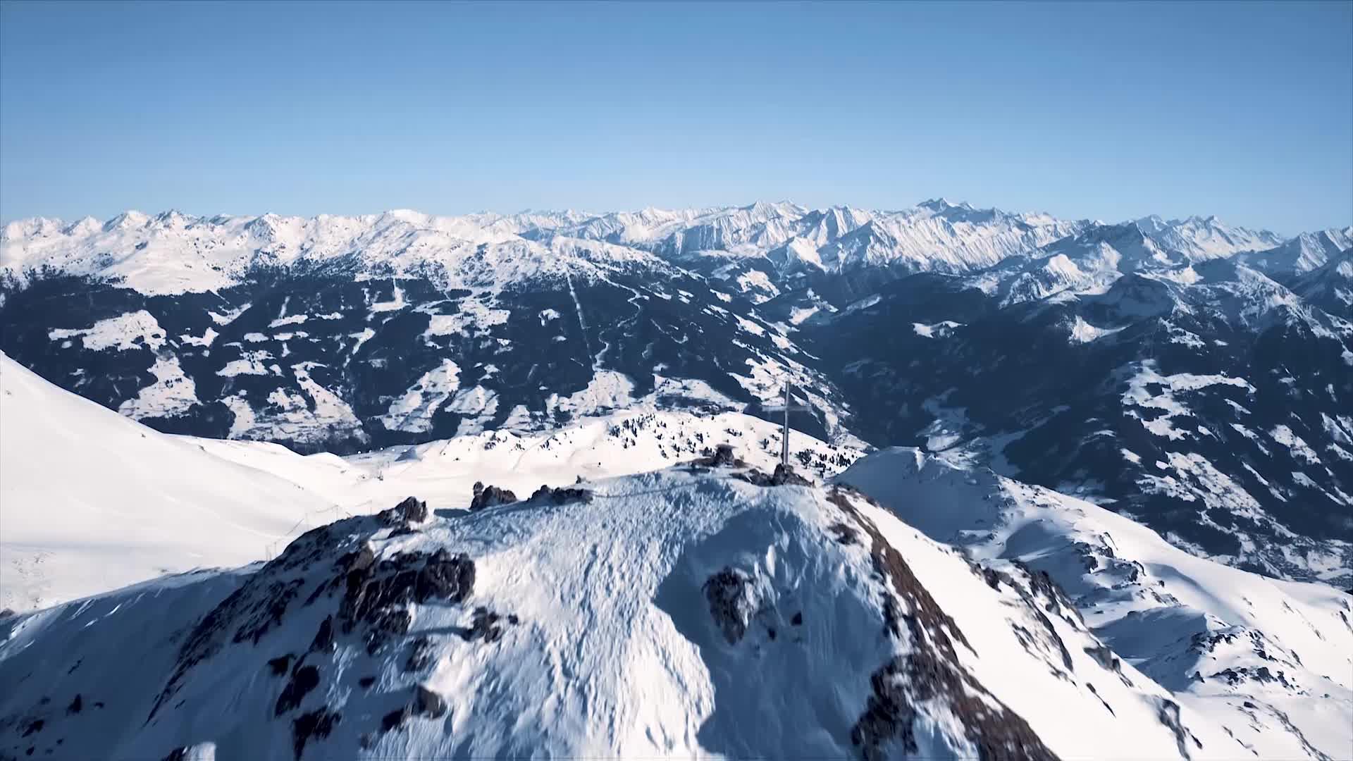 Über den Gipfeln von Hochzillertal