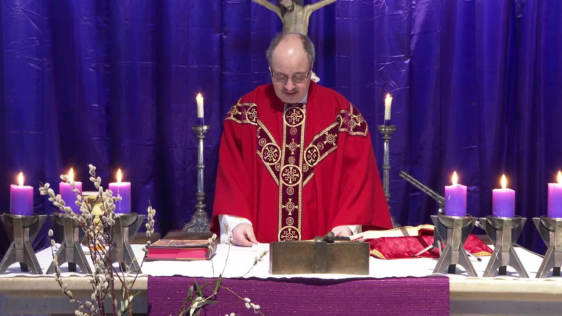 Messe 5-4-20 Palmsonntag